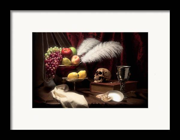 Abundance Framed Print featuring the photograph Life And Death In Still Life by Tom Mc Nemar