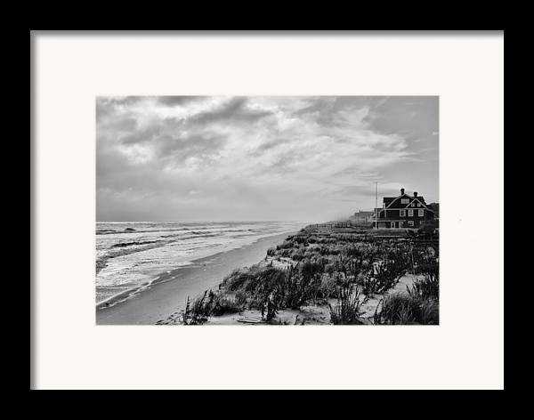 Beach Framed Print featuring the photograph Mantoloking Beach - Jersey Shore by Angie Tirado