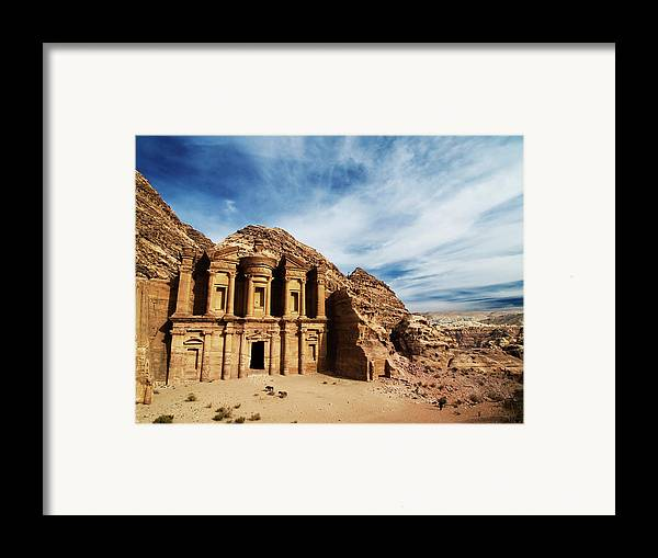Horizontal Framed Print featuring the photograph Monastery by Julian Kaesler