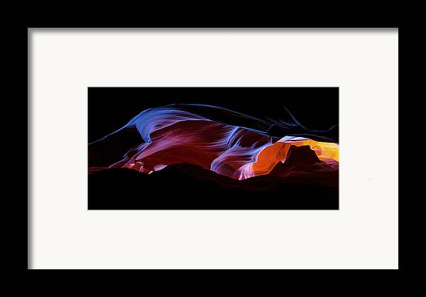 Monument Light Framed Print featuring the photograph Monument Light by Chad Dutson