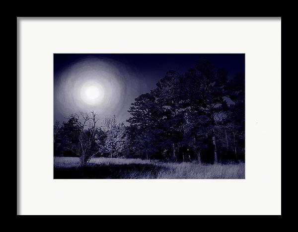 Dream Framed Print featuring the photograph Moon And Dreams by Nina Fosdick