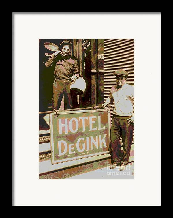Moving Hotel Degink Framed Print featuring the photograph Moving Hotel Degink by Padre Art