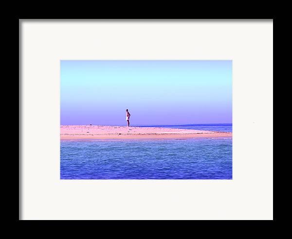 Landscapes Framed Print featuring the photograph My Island Home by Holly Kempe