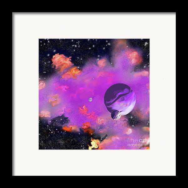 My Space Framed Print featuring the painting My Space by Methune Hively