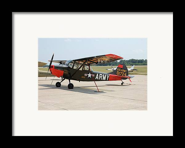 Dog Framed Print featuring the photograph O-1 Bird Dog by Jame Hayes