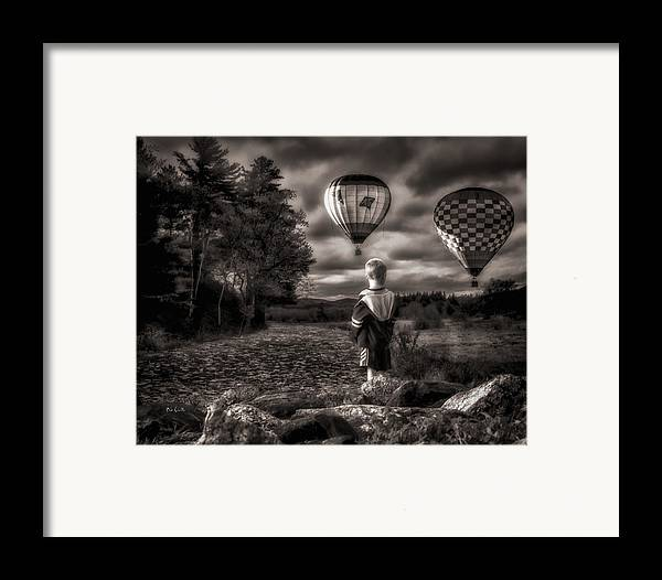 Boy Framed Print featuring the photograph One Boys Dream by Bob Orsillo