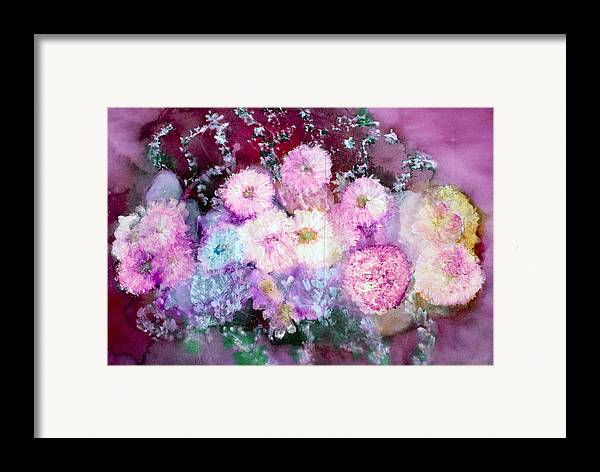 Wildflowers Framed Print featuring the painting Parisian by Don Wright