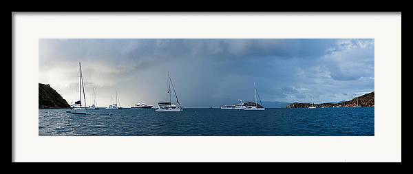 3scape Photos Framed Print featuring the photograph Passing Storm by Adam Romanowicz