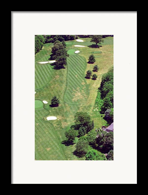 Philadelphia Cricket Club Framed Print featuring the photograph Philadelphia Cricket Club St Martins Golf Course 8th Hole 415 W Willow Grove Ave Phila Pa 19118 by Duncan Pearson