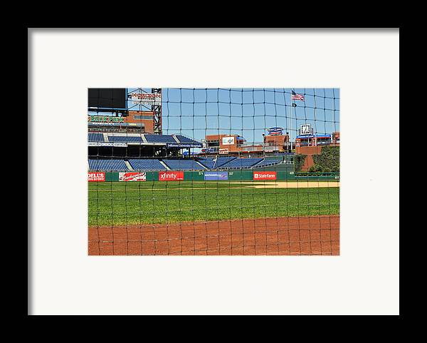Philadelphia Framed Print featuring the photograph Phillies by Brynn Ditsche