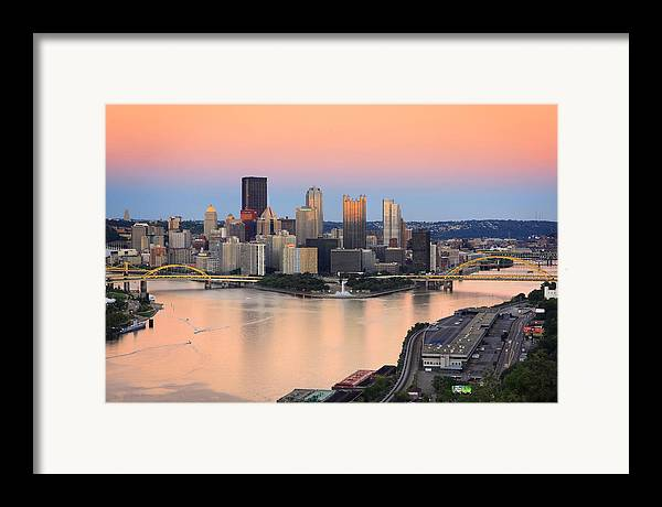 Steelers Framed Print featuring the photograph Pittsburgh 16 by Emmanuel Panagiotakis