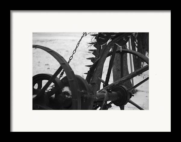 Machinery Framed Print featuring the photograph Plow by Peter McIntosh