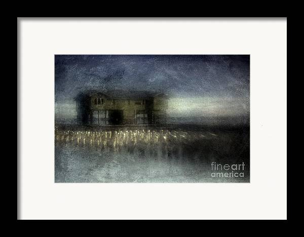 Blue Framed Print featuring the photograph Recurrent Dream by Andrew Paranavitana