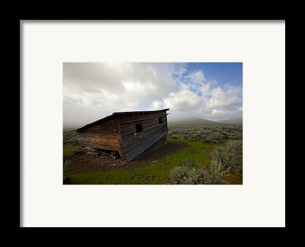 Ruin Framed Print featuring the photograph Seen Better Days by Mike Dawson