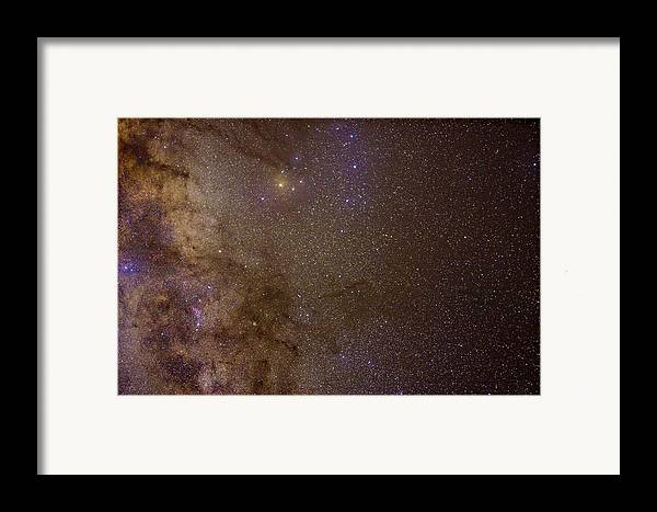 Milky Way Framed Print featuring the photograph Southern Milky Way by Charles Warren