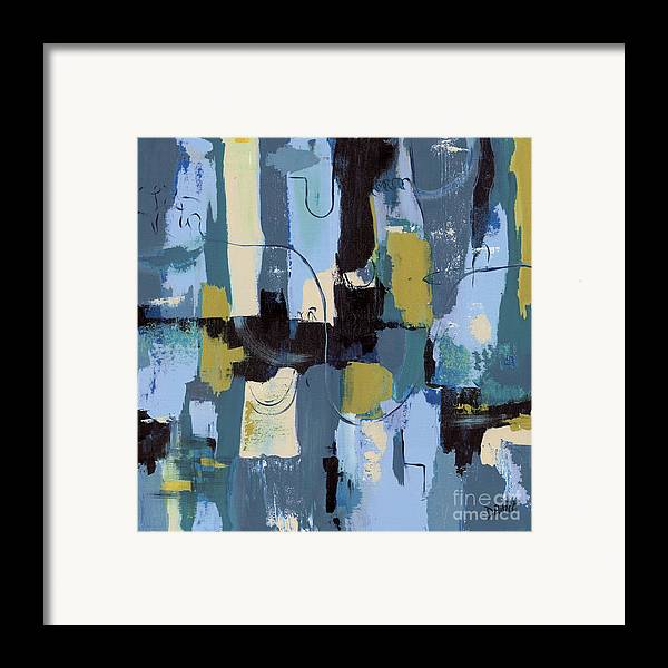 Spa abstract 2 framed print by debbie dewitt for Abstract salon of the arts