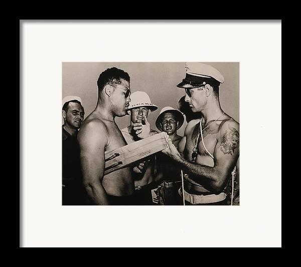 History Framed Print featuring the photograph Staff Sergeant Joe Louis, World by Everett