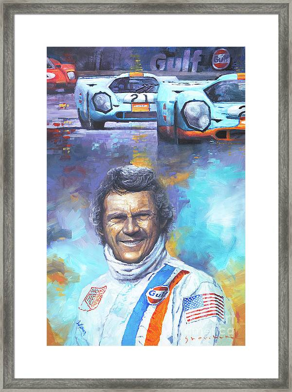 Steve Mcqueen Le Mans Porsche 917 Framed Print Shop Your Way Online Shopping Amp Earn Points On