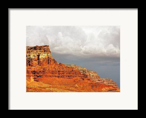 Vermilion Cliffs Framed Print featuring the photograph The Condor's Land by Christine Till
