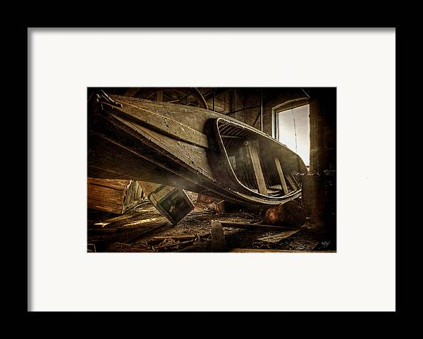 Boat Framed Print featuring the photograph The Last Port by Everet Regal