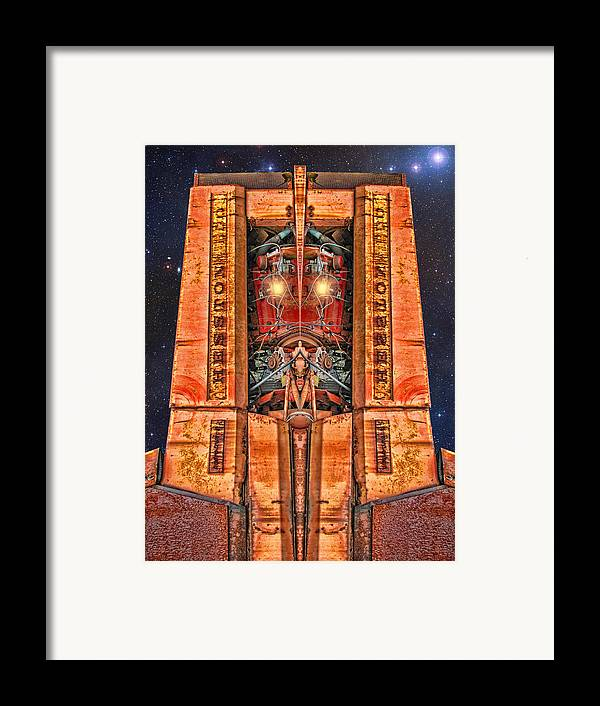 Royalty Framed Print featuring the digital art The Recycled King by Wendy J St Christopher