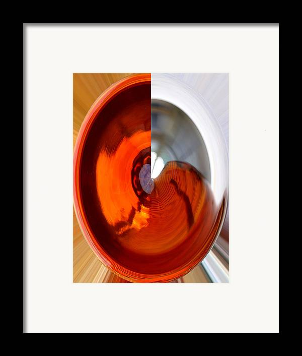 Abstract Digital Art Framed Print featuring the digital art Three Quarters II by James Granberry