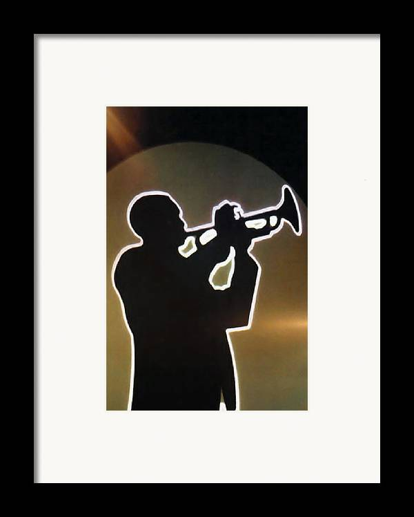 Classic Framed Print featuring the photograph Trumpet - Classic Jazz Music All Night Long by Christine Till