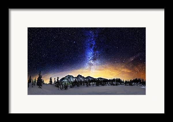 Stars Framed Print featuring the photograph Under The Stars by Alexis Birkill