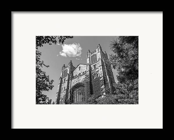 Ann Arbor Framed Print featuring the photograph University Of Michigan Law Library by University Icons