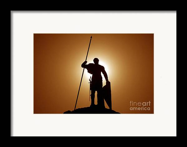 Warrior Framed Print featuring the photograph Warrior by David Lee Thompson