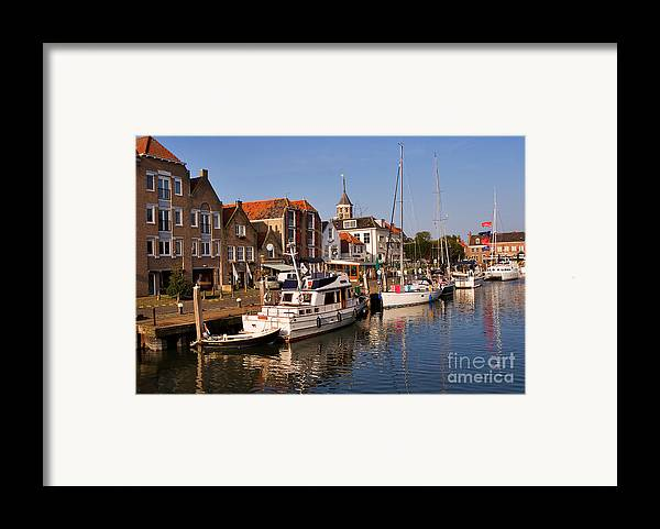 Travel Framed Print featuring the photograph Willemstad by Louise Heusinkveld