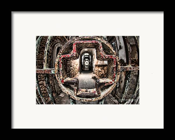 Philadelphia Framed Print featuring the photograph Without Salvation by Andrew Paranavitana