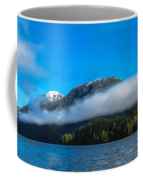 Seacapes Coffee Mug featuring the photograph Bc Coastline by Robert Bales