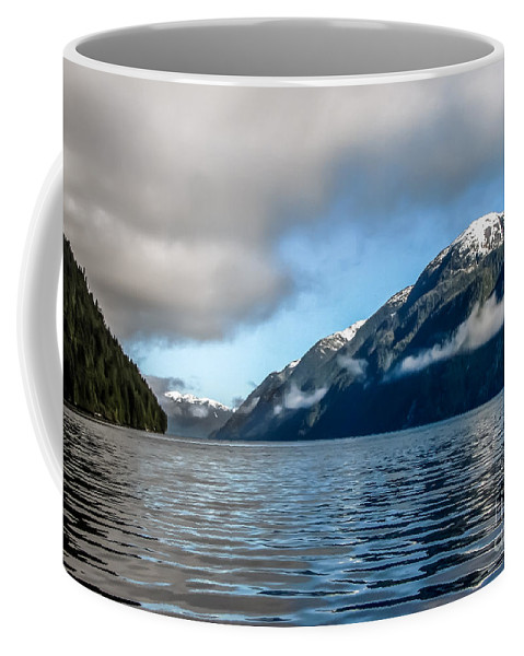 Seacapes Coffee Mug featuring the photograph Bc Inside Passage by Robert Bales