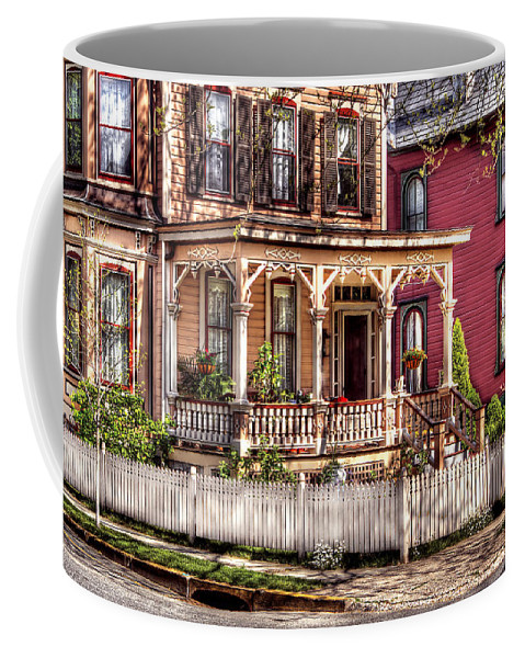 Savad Coffee Mug featuring the House - Country Victorian by Mike Savad
