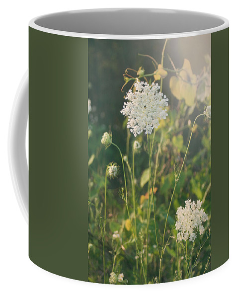 Queen Anne's Lace Coffee Mug featuring the photograph It Was A Summer Of Love by Laurie Search