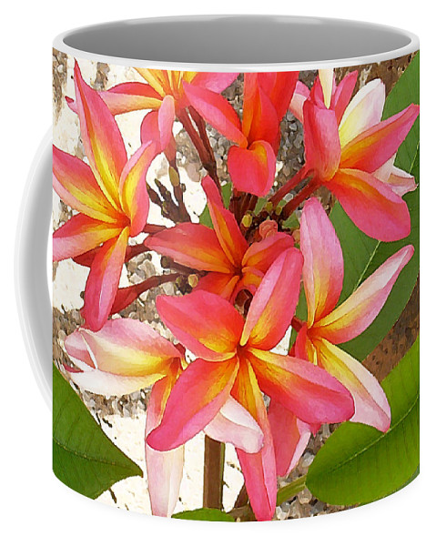 Hawaii Iphone Cases Coffee Mug featuring the photograph Plantation Plumeria by James Temple