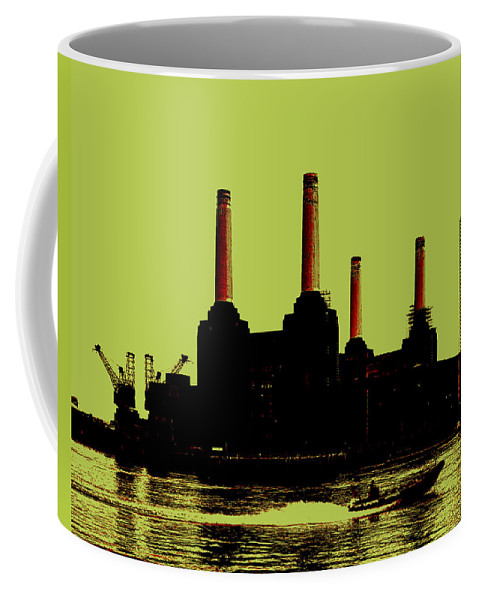 Power Station London Coffee Mug featuring the photograph Battersea Power Station London by Jasna Buncic