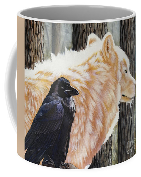 Acrylic Coffee Mug featuring the painting Dance In The Light by Sandi Baker