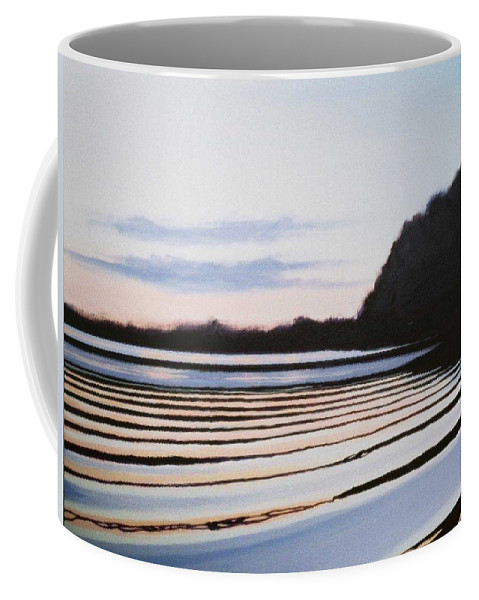 Peace Project Coffee Mug featuring the painting Peace by Hunter Jay
