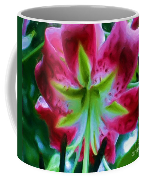 Fine Art Photography Coffee Mug featuring the photograph Stargazer by Patricia Griffin Brett