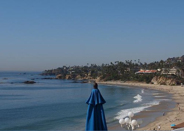 Redondo Beach Greeting Card featuring the photograph Laguna Beach by Jim Moore