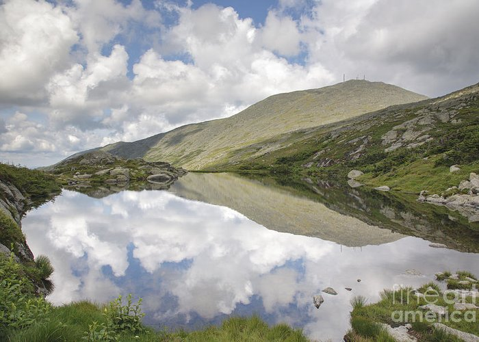 White Mountains Greeting Card featuring the photograph Lakes Of The Clouds - Mount Washington New Hampshire by Erin Paul Donovan