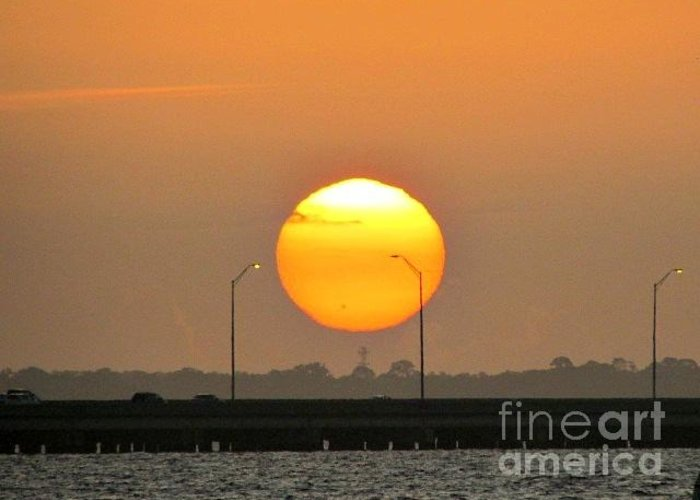 Sunrise Iphone Case Greeting Card featuring the photograph 0219 by William Cutler
