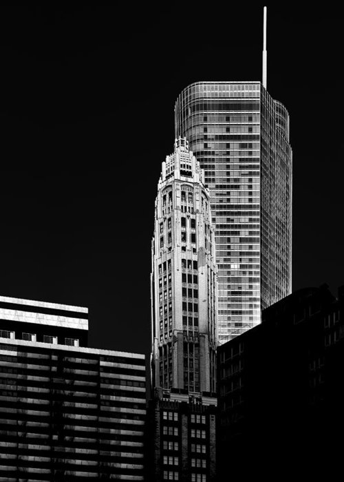 Donald Greeting Card featuring the photograph Chicago - Trump International Hotel And Tower by Christine Till