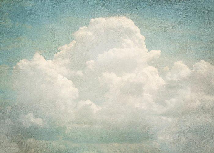 Brett Greeting Card featuring the digital art Cloud Series 3 Of 6 by Brett Pfister