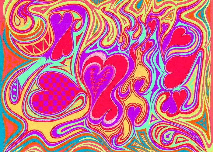Double Broken Heart Greeting Card featuring the photograph Double Broken Heart by Kenneth James