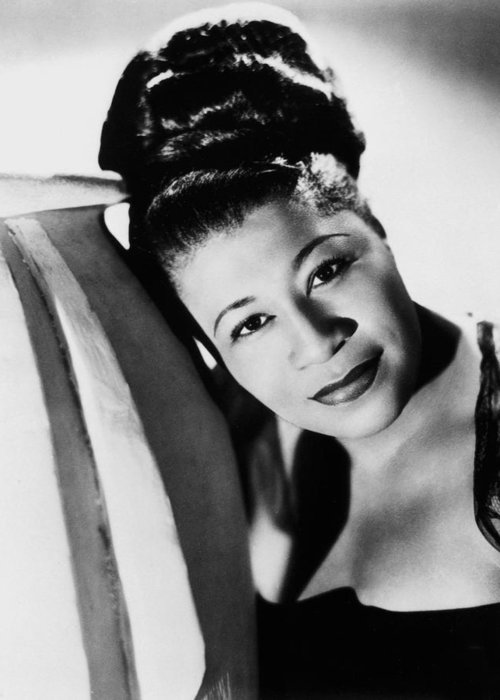 1940 Greeting Card featuring the photograph Ella Fitzgerald (1917-1996) by Granger