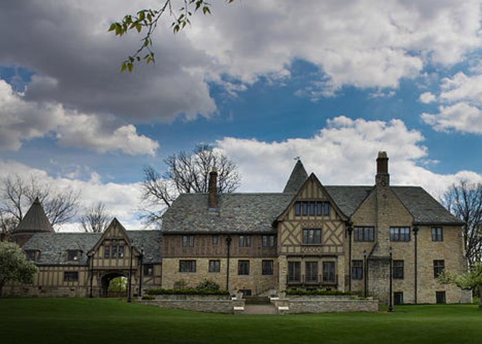 Ewing Manor Greeting Card featuring the photograph Ewing Manor by Brad Basham