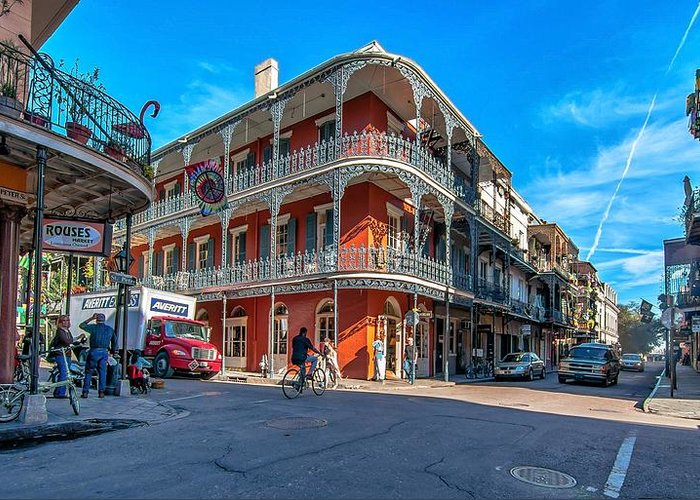 French Quarter Greeting Card featuring the photograph French Quarter Afternoon by Steve Harrington